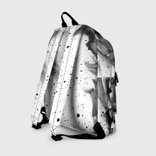 Рюкзак 3D с принтом КОРОЛЬ И ШУТ, вид сзади #1