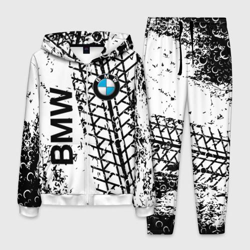 Мужской 3D костюм с принтом BMW, вид спереди #2