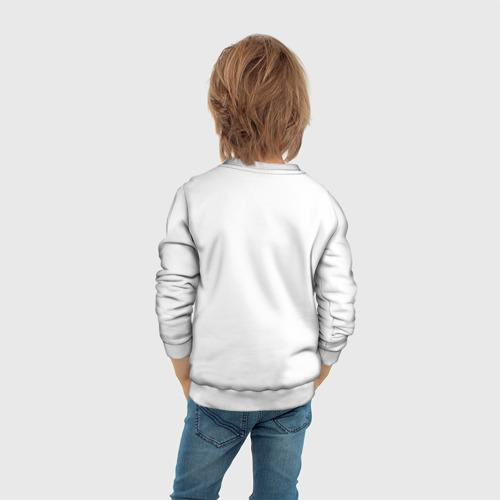 Детский 3D свитшот с принтом Among Us, вид сзади #2