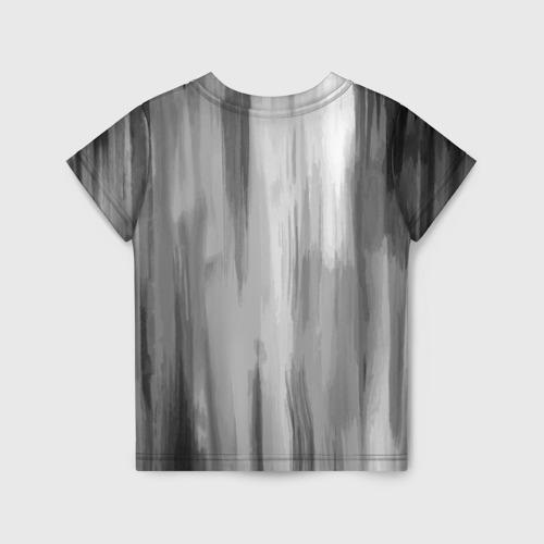 Детская 3D футболка с принтом Сиреноголовый, вид сзади #1