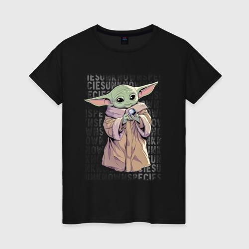 Женская футболка Дитя