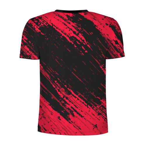 Мужская футболка 3D спортивная с принтом BAYERN MUNCHEN \ БАВАРИЯ, вид сзади #1