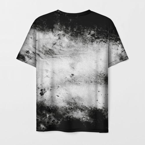 Мужская 3D футболка с принтом Gachimuchi   11, вид сзади #1