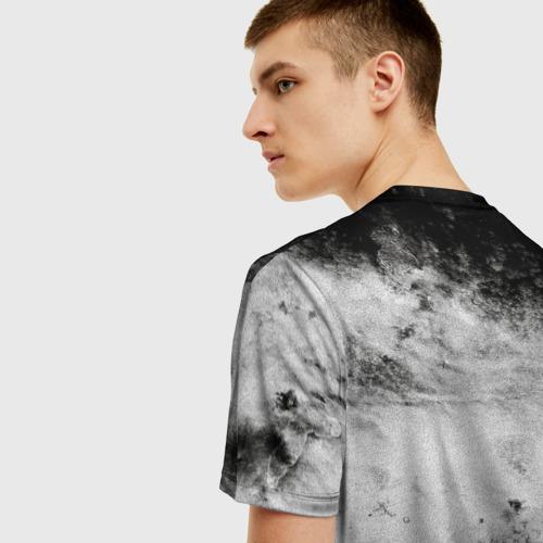Мужская 3D футболка с принтом Gachimuchi   11, вид сзади #2