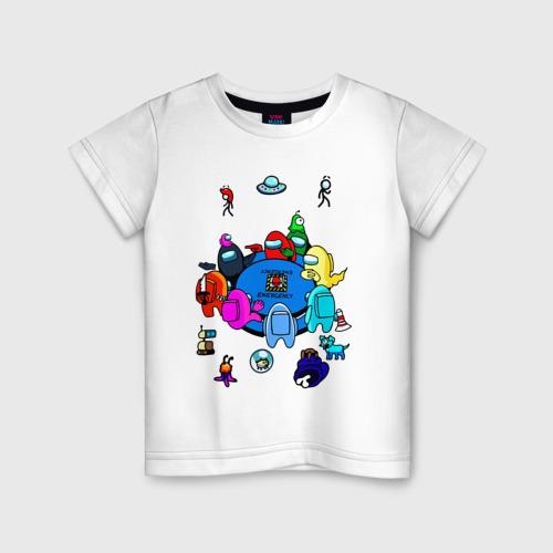 Детская футболка AMONG US