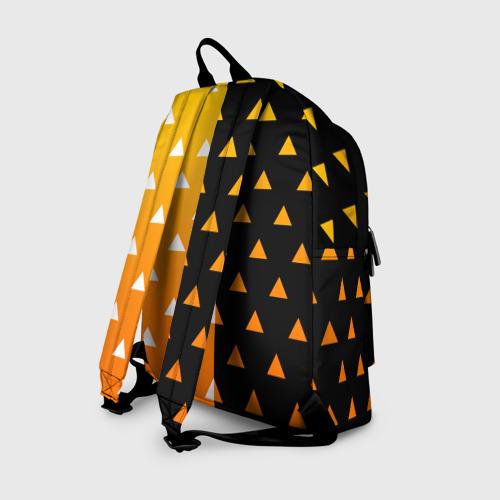 Рюкзак 3D с принтом ZENITSU | ЗЕНИТСУ (КИМОНО), вид сзади #1