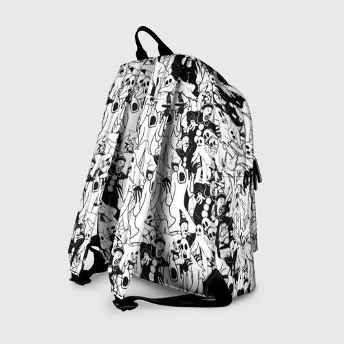 Рюкзак 3D с принтом GHOSTEMANE, вид сзади #1