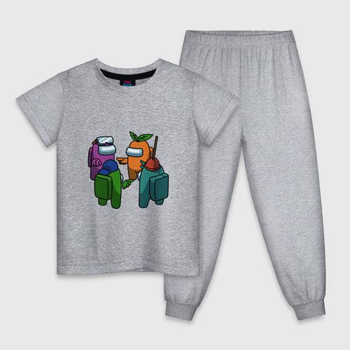 Детская пижама NOT ME   AMONG US