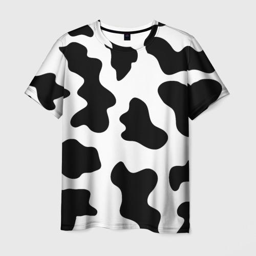 Мужская 3D футболка Му-му