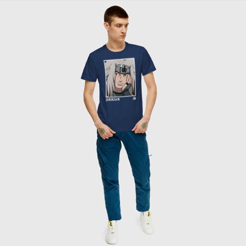 Мужская футболка с принтом Джирайя, вид сбоку #3