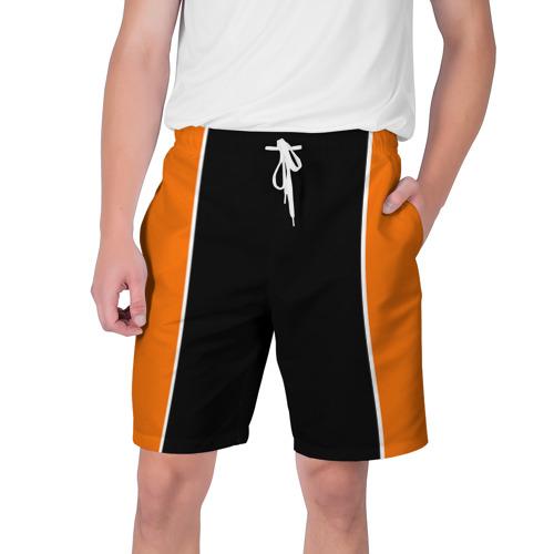 Мужские шорты 3D с принтом Шорты формы Haikyuu!!, вид спереди #2