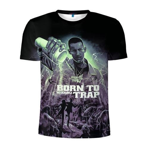 Мужская футболка 3D спортивная KIZARU BORN TO TRAP