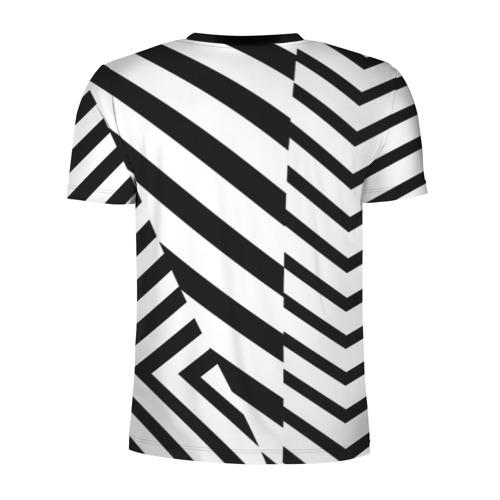 Мужская футболка 3D спортивная с принтом MANCHESTER UNITED 20/21, вид сзади #1