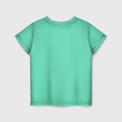 Детская 3D футболка с принтом Sucrose, вид сзади #1
