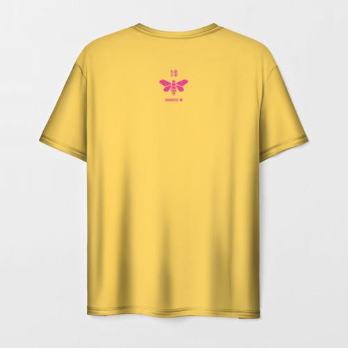 Мужская 3D футболка с принтом Во все тяжкие, вид сзади #1