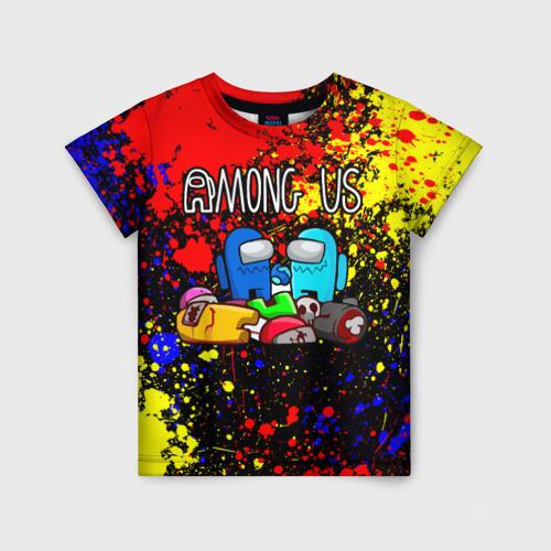 Детская 3D футболка AMONG US