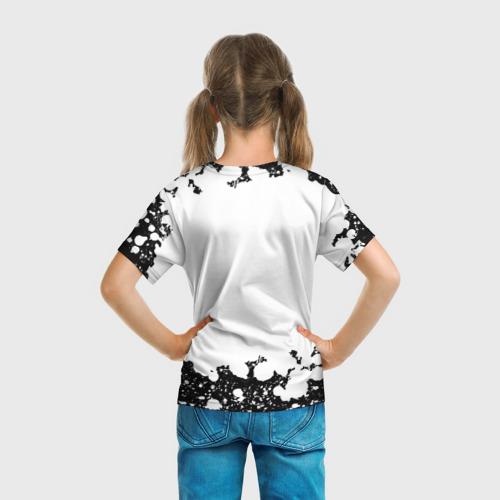 Детская 3D футболка с принтом Among Us (Z), вид сзади #2