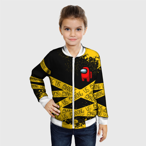 Детский бомбер 3D AMONG US / Амонг Ас