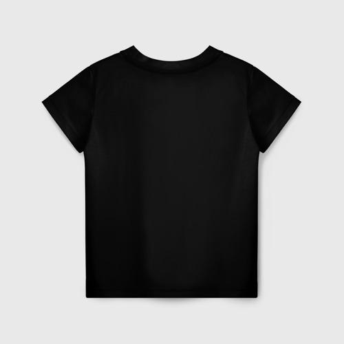 Детская 3D футболка с принтом Среди Нас, вид сзади #1
