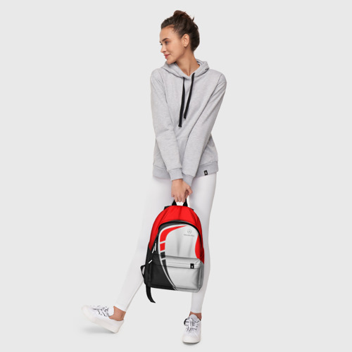 Рюкзак 3D с принтом Mercedes-Benz, фото #6