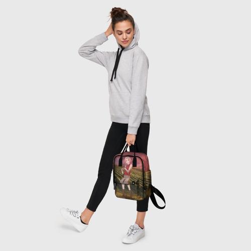 Женский рюкзак 3D с принтом Сакура, фото #4