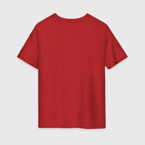 Женская футболка oversize с принтом Ramen, вид сзади #1