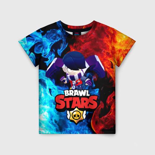 Детская 3D футболка Brawl Stars Эдгар