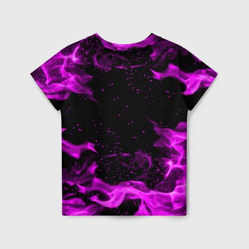 Детская 3D футболка с принтом ГЕНЕРАЛ ГАВС - Brawl Stars, вид сзади #1