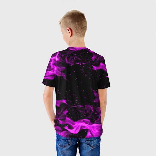 Детская 3D футболка с принтом ГЕНЕРАЛ ГАВС - Brawl Stars, вид сзади #2