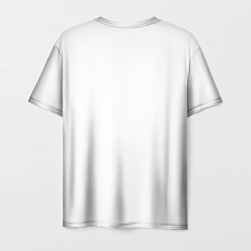 Мужская 3D футболка с принтом NIER AUTOMATA 2B, вид сзади #1