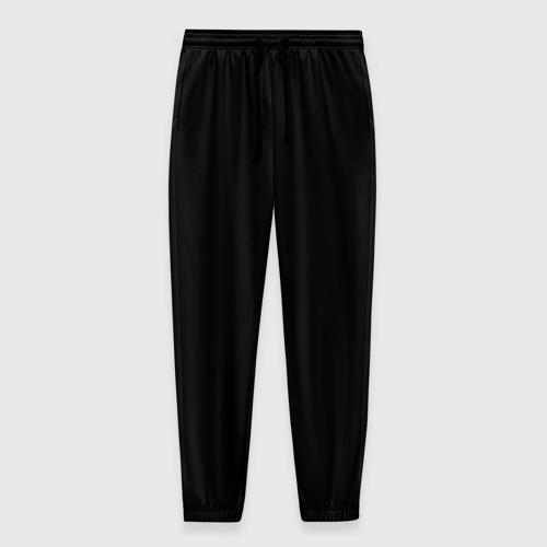 Мужские брюки 3D с принтом ЧЁРНАЯ МАСКА   ТЕМНЫЕ ВЕЩИ, вид спереди #2
