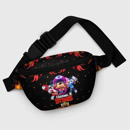 Поясная сумка 3D с принтом Brawl Stars the StarrForce, фото #5