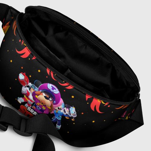 Поясная сумка 3D с принтом Brawl Stars the StarrForce, фото #6