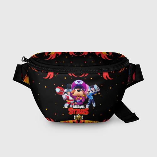 Поясная сумка 3D с принтом Brawl Stars the StarrForce, вид спереди #2