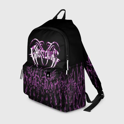Рюкзак 3D с принтом GHOSTEMANE, вид спереди #2