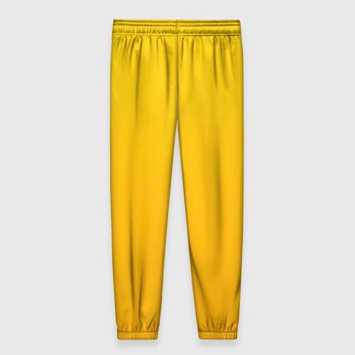 Женские брюки 3D с принтом LITTLE NIGHTMARES (КОСТЮМ), вид сзади #1