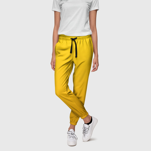 Женские брюки 3D с принтом LITTLE NIGHTMARES (КОСТЮМ), фото на моделе #1