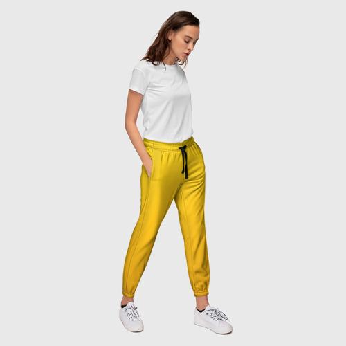 Женские брюки 3D с принтом LITTLE NIGHTMARES (КОСТЮМ), вид сбоку #3