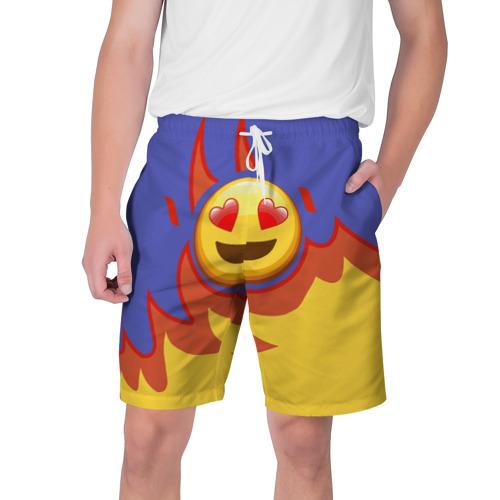 Мужские шорты 3D Ты горишь как огонь v1