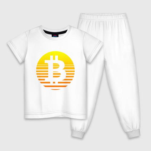 Детская пижама БИТКОИН   BITCOIN (Z)
