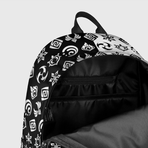 Рюкзак 3D с принтом Genshin Impact, фото #7