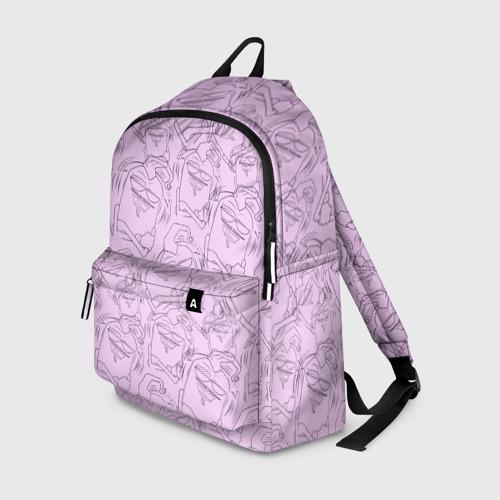 Рюкзак 3D Эдисон (нежно-розовый)