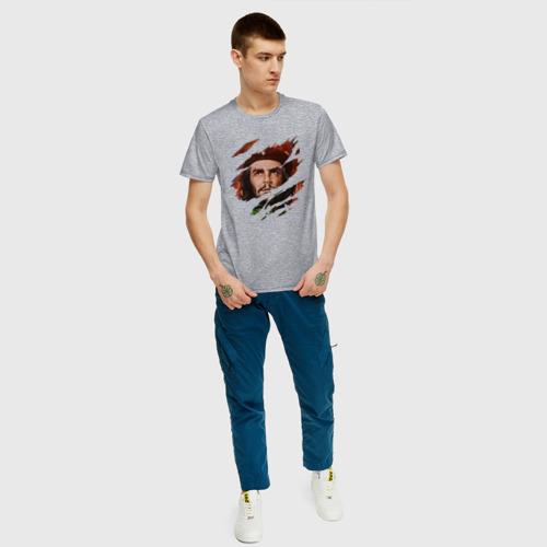 Мужская футболка с принтом CHE GUEVARA | ЧЕ ГЕВАРА, вид сбоку #3