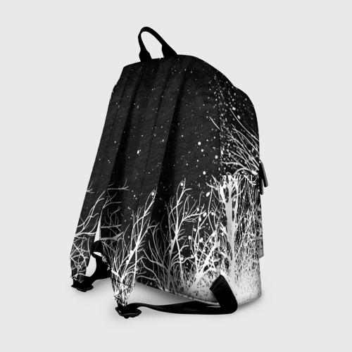Рюкзак 3D с принтом LITTLE NIGHTMARES ЛЕС, вид сзади #1