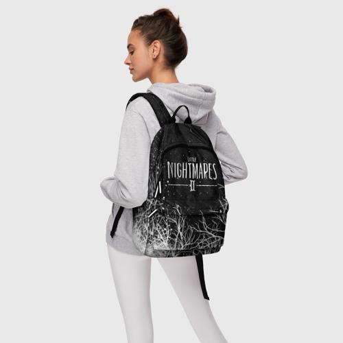 Рюкзак 3D с принтом LITTLE NIGHTMARES ЛЕС, фото #4