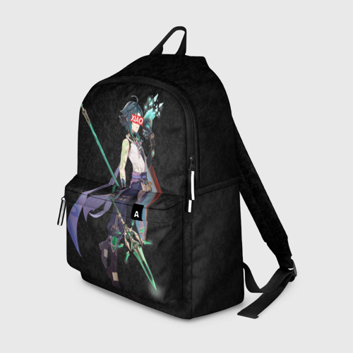 Рюкзак 3D с принтом Genshin Impact XIAO, вид спереди #2