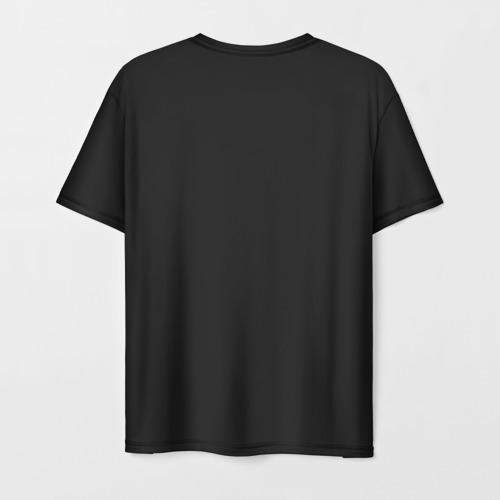 Мужская 3D футболка с принтом Life Is Strange, вид сзади #1