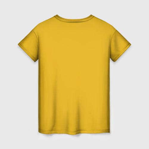 Женская 3D футболка с принтом Ohto ai, вид сзади #1