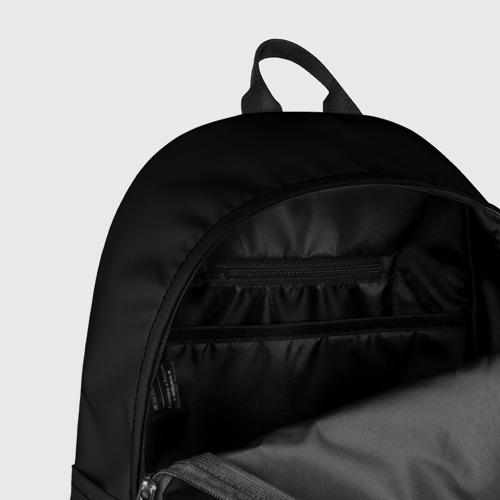 Рюкзак 3D с принтом ЧБ Дракон, фото #7