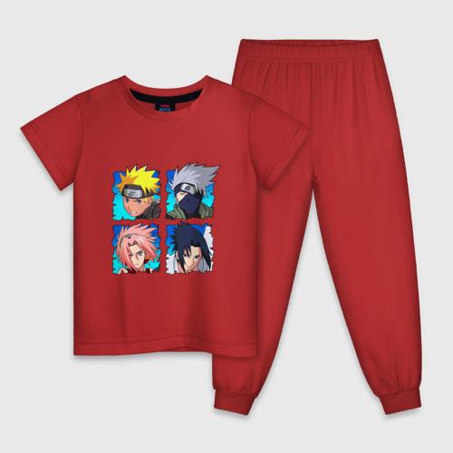 Детская пижама НАРУТО САСКЕ КАКАШИ САКУРА
